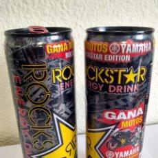Coleccionismo Otros Botellas y Bebidas: BOTE - LATA BEBIDA ENERGIZANTE ROCKSTAR ROCK STAR - ENERGY DRINK YAMAHA - JORGE LORENZO MOTO GP. Lote 286469268