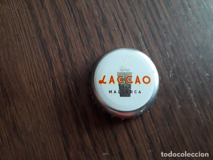 CHAPA TAPÓN CORONA DE BATIDO DE CHOCOLATE, LACCAO, MALLORCA. (Coleccionismo - Otras Botellas y Bebidas )