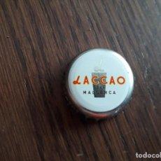 Coleccionismo Otros Botellas y Bebidas: CHAPA TAPÓN CORONA DE BATIDO DE CHOCOLATE, LACCAO, MALLORCA.. Lote 288726193