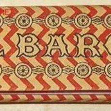 Papel de fumar: LIBRILLO PAPEL DE FUMAR EL BARCO. Lote 12745837
