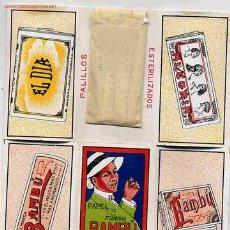 Papel de fumar: PALILLERO PUBLICIDAD DE PAPEL DE FUMAR BAMBU PAPEL. Lote 152424624