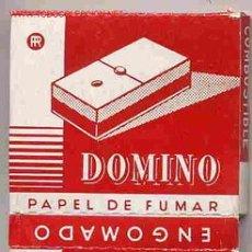 Papel de fumar: PAPEL DE FUMAR DOMINO CUADRADO ALCOY. Lote 243902100