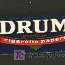 Papel de fumar: LIBRITO DE PAPEL DE FUMAR DRUM. Lote 4318384