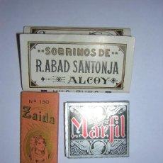 Papel de fumar: LOTE DE 3 ESTUCHES DE PAPEL DE FUMAR NUEVOS. Lote 26399460
