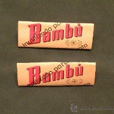 Papel de fumar: PAPEL DE FUMAR BAMBÚ. Lote 27342534