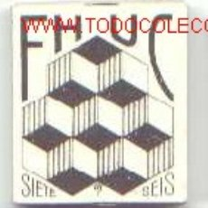 Papel de fumar: PAPEL DE FUMAR FHUC - SIETE SEIS. Lote 5932639