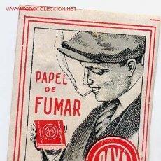 Papel de fumar: ETIQUETA O VIÑETA PUBLICIDAD PAPEL DE FUMAR PAYA MIDE APROXIMADAMENTE 4 X 5 CTMS. ANTIGUA ORIGINAL. Lote 236742375