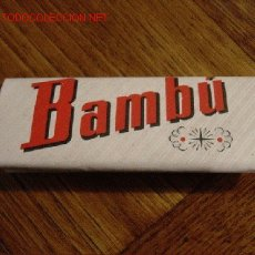 Papel de fumar: PAPEL DE FUMAR BAMBU. Lote 26300081