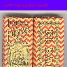 Papel de fumar: PAPEL DE FUMAR - * EL BARCO *. Lote 12906648