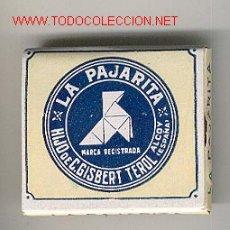 Papel de fumar: PAPEL DE FUMAR - * LA PAJARITA * ALCOY (ALICANTE). Lote 22414895