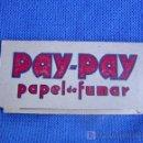 Papel de fumar: PUBLICIDAD PAPEL DE FUMAR PAY-PAY CARTERITA PARA SELLOS. Lote 165097022