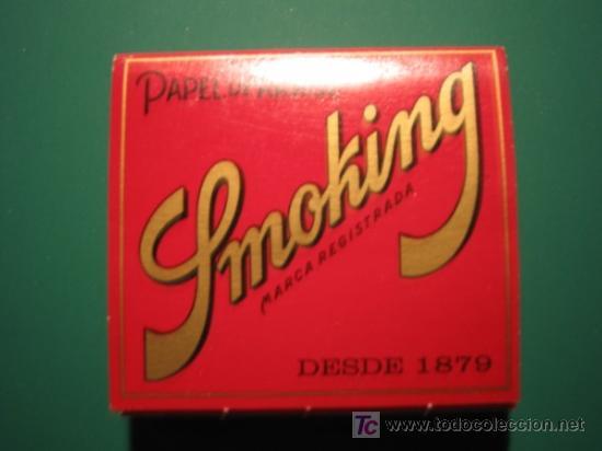 PAPEL DE FUMAR - SMOKING (Coleccionismo - Objetos para Fumar - Papel de fumar )
