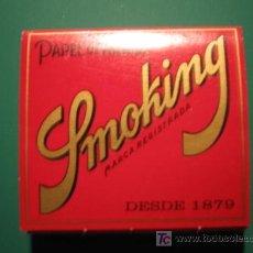 Papel de fumar: PAPEL DE FUMAR - SMOKING. Lote 11161874