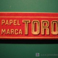 Papel de fumar: PAPEL DE FUMAR - PAPEL TORO. Lote 27437195