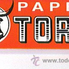 Papel de fumar: PAPEL DE FUMAR -TORO. Lote 21752934