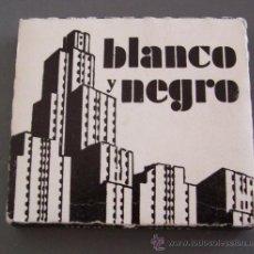 Papel de fumar: PAPEL DE FUMAR BLANCO Y NEGRO (USADO). Lote 12654226