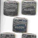 Papel de fumar: LOTE DE 50 CAJITAS PARA PAPEL DE FUMAR BAMBU ALCOY, ALICANTE.. Lote 42641851