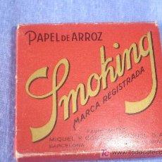 Papel de fumar: PAPEL DE FUMAR DE ARROZ