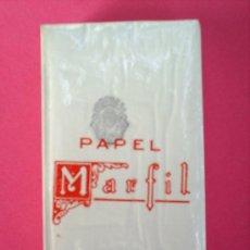 Papel de fumar: LIBRILLO PAQUETE ,PAPEL DE FUMAR MARFIL ALCOY AÑOS 30. Lote 20384322