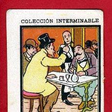 Papel de fumar: CROMO DE PAPEL DE FUMAR LAYANA, MUY ANTIGUO, REVERSO BLANCO,. Lote 141811854