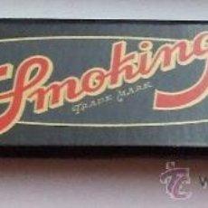 Papel de fumar: PAPEL DE FUMAR SMOKING KING SIZE DE LUXE. Lote 17385420