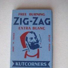 Papel de fumar: ANTIGUO PAPEL DE FUMAR - ZIG-ZAG - FRANCIA..ENVIO GRATIS¡¡¡. Lote 18037149