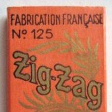 Papel de fumar: ANTIGUO PAPEL DE FUMAR - ZIG-ZAG - FRANCIA..ENVIO GRATIS¡¡¡. Lote 18037180