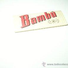 Papel de fumar: PAPEL DE FUMAR BAMBU. Lote 18396065