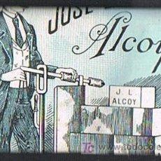 Papel de fumar: PAPEL DE FUMAR, LA BÁSCULA, DISTRIBUIDOR JOSÉ LAPORTA - ALCOY. Lote 18974840