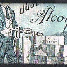 Papel de fumar: PAPEL DE FUMAR, LA BÁSCULA, DISTRIBUIDOR JOSÉ LAPORTA - ALCOY. Lote 18974879