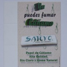 Papel de fumar: PAPEL DE FUMAR POSTAL PROMOCIONAL PAPEL SATIVO. Lote 26304963