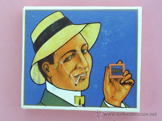 LIBRILLO PAPEL DE FUMAR , MARCA BAMBU , ALCOY , MUY ANTIGUO (Coleccionismo - Objetos para Fumar - Papel de fumar )