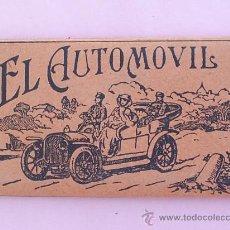 Papel de fumar: LIBRILLO PAPEL DE FUMAR , EL AUTOMOVIL , ALCOY AÑOS 30 . Lote 21426342