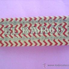 Papel de fumar: LIBRILLO PAPEL DE FUMAR - EL BARCO , ALCOY AÑOS 30. Lote 21428455
