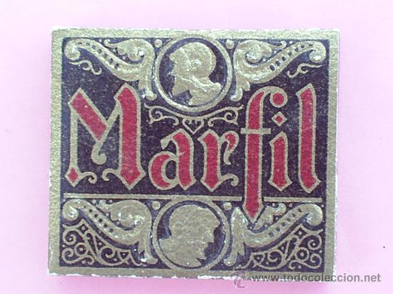 LIBRILLO PAPEL DE FUMAR - MARFIL - VISELADO , ALCOY AÑOS 30 (Coleccionismo - Objetos para Fumar - Papel de fumar )