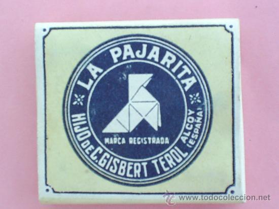 LIBRILLO PAPEL DE FUMAR , LA PAJARITA , ALCOY AÑOS 30 (Coleccionismo - Objetos para Fumar - Papel de fumar )
