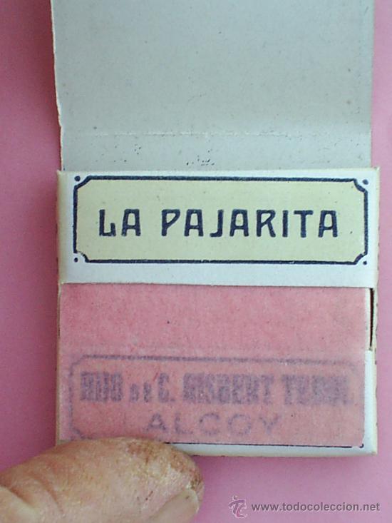 Papel de fumar: librillo papel de fumar , la pajarita , alcoy años 30 - Foto 2 - 39581018