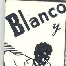 Papel de fumar: LIBRO DE PAPEL DE FUMAR BLANCO NEGRO / 2. Lote 26305854