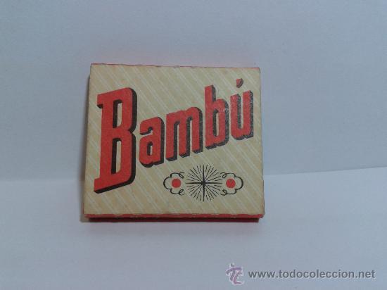 PAPEL DE FUMAR BAMBÚ SOBRINOS DE R. ABAD SANTONJA ALCOY (Coleccionismo - Objetos para Fumar - Papel de fumar )