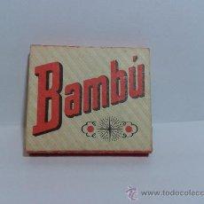 Papel de fumar: PAPEL DE FUMAR BAMBÚ SOBRINOS DE R. ABAD SANTONJA ALCOY. Lote 29102568
