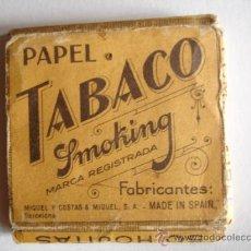 Papel de fumar: PAPEL DE FUMAR SMOKING. Lote 29481410