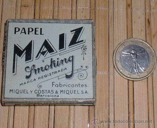 PAPEL DE FUMAR MAIZ SMOKING (Coleccionismo - Objetos para Fumar - Papel de fumar )