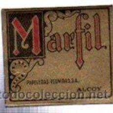 Papel de fumar: PAPEL PARA FUMAR MARFIL, PAPEL ARROZ. Lote 31222391