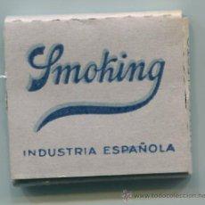 Papel de fumar: PAPEL DE FUMAR SMOKING - INDUSTRIA ESPAÑOLA - GRIS, PAPEL DE HILO. Lote 31377756