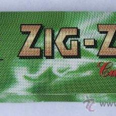 Papier à rouler: PAPEL DE FUMAR ZIG-ZAG CUT CORNERS COLOR VERDE. Lote 34467232