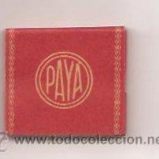Papel de fumar: PAPEL DE FUMAR F. PAYÁ MIRALLES – ALCOY. Lote 54251341