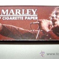 Papel de fumar: PAPEL DE FUMAR - * BOB MARLEY * 8 CM X 2 CM. Lote 33241949