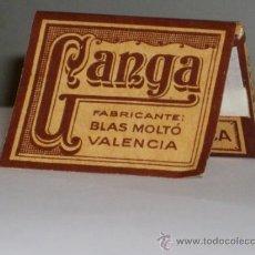 Papel de fumar: PAPEL DE FUMAR GANGA. Lote 34741663