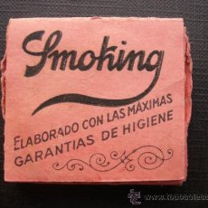 Papel de fumar: SMOKING. PAPEL DE ARROZ. MIQUEL Y COSTAS. Lote 36674713