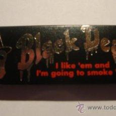 Papel de fumar: PAPEL DE FUMAR BLACK DEATH. Lote 37538550